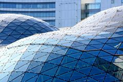 Moderne architectuur, Europa. Royalty-vrije Stock Foto's