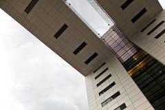 Moderne Architectuur in Keulen stock fotografie