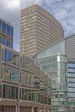 Moderne architectuur in Londen stock fotografie