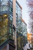 Moderne architectuur in MediaPark in Keulen Royalty-vrije Stock Afbeeldingen