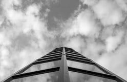 Moderne architectuur, minimaal ontwerp en art. Royalty-vrije Stock Afbeeldingen