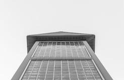 Moderne architectuur, minimaal ontwerp en art. Stock Afbeeldingen