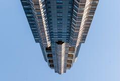 Moderne architectuur, minimaal ontwerp en art. Stock Foto