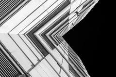 Moderne architectuur, minimaal ontwerp en art. Royalty-vrije Stock Afbeelding