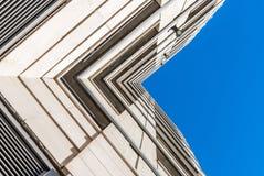 Moderne architectuur, minimaal ontwerp en art. Stock Fotografie