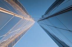 Moderne architectuur, minimaal ontwerp en art. Royalty-vrije Stock Fotografie