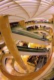 Moderne architectuur OP Boomgaard Royalty-vrije Stock Afbeeldingen