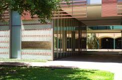 Moderne architectuur op de campus van Texas Royalty-vrije Stock Fotografie