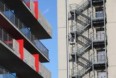 Moderne architectuur, Praag Royalty-vrije Stock Afbeeldingen