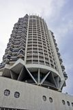 Moderne architectuur in Tel Aviv stock afbeeldingen