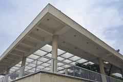 Moderne architectuur in Tel Aviv stock fotografie