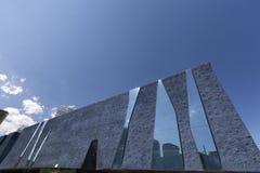 Moderne architectuur van Barcelona, Museu Blau royalty-vrije stock foto