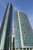 Moderne architectuur van de grote steden Stock Afbeelding