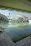 Moderne architectuur van Expo Valencia Spanje Stock Afbeelding