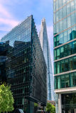 Moderne architectuur van Londen stock afbeelding