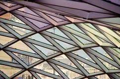 Moderne architectuur - Warshau, Polen stock foto
