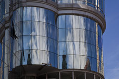 Moderne architectuur in Wenen Stock Afbeeldingen