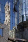 Moderne architectuur in Wenen Stock Afbeelding