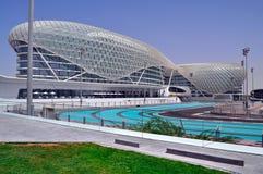 Moderne Architektur in Abu Dhabi, Vereinigte Arabische Emirate Stockfotos