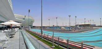 Moderne Architektur in Abu Dhabi, Vereinigte Arabische Emirate Stockfotografie