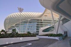 Moderne Architektur in Abu Dhabi, Vereinigte Arabische Emirate Stockbilder