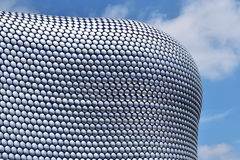 Moderne Architektur in Birmingham-Stadt lizenzfreie stockbilder