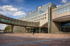 Moderne Architektur in Brüssel Stockbild