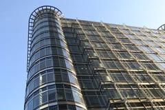 Moderne Architektur-Canary Wharf-Skyline London Stockbild