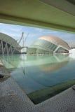 Moderne Architektur der Ausstellung Valencia Spanien Stockbild