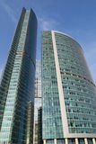 Moderne Architektur der Großstädte Stockbild