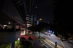 Moderne Architektur in der Republik Singapur Feuer, neu lizenzfreies stockfoto