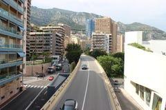 Moderne Architektur in der Stadt von Monaco Lizenzfreie Stockbilder