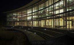 Moderne Architektur in Dusseldorf in Deutschland an Ni Stockfotografie