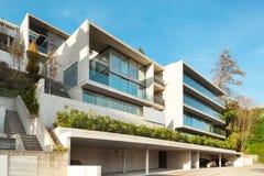 Moderne Architektur, errichtend stockbild
