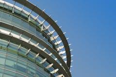 Moderne Architektur im Metall und im Glas Lizenzfreie Stockfotografie
