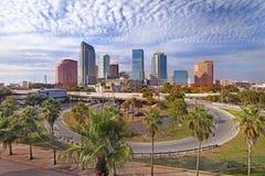 Moderne Architektur innen von Tampa, Florida USA Lizenzfreie Stockfotos