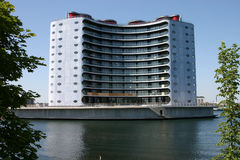 Moderne Architektur in Kopenhagen Stockfoto