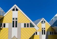 Moderne Architektur in Rotterdam Lizenzfreie Stockfotos
