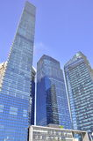 Moderne Architektur Singapur des Wolkenkratzers Lizenzfreies Stockfoto