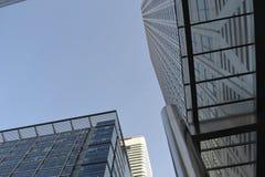 Moderne Architektur-Skyline London Stockfotos