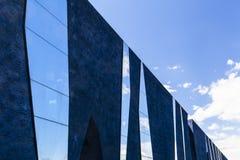 Moderne Architektur von Barcelona, Museu Blau stockbild