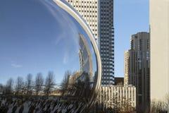 Moderne Architektur von Chicago im Stadtzentrum gelegen Stockfoto