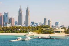 Moderne Architektur von Dubai stockbilder