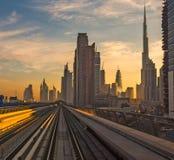 Moderne Architektur von Dubai Lizenzfreies Stockbild