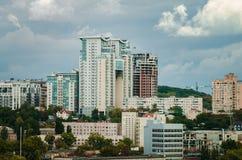 Moderne Architektur von einer Großstadt stockfoto