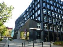 Moderne Architektur von Osteuropa stockfotos