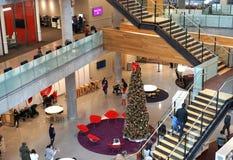 Moderne Architektur, wenn Räume gelernt werden Lizenzfreie Stockfotos