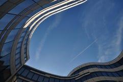 Moderne arkitektur Fotografering för Bildbyråer