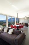 Moderne Art, Wohnzimmer Stockfoto