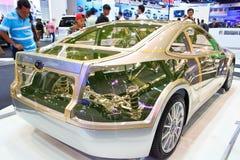 Moderne auto Royalty-vrije Stock Fotografie